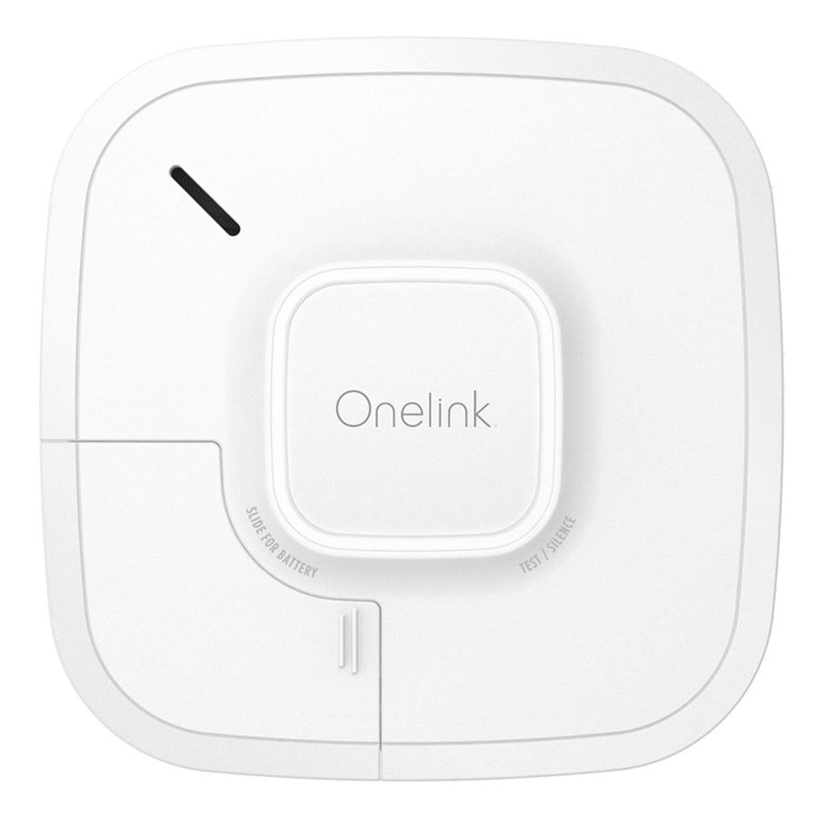 onelink smart smoke and carbon monoxide alarm battery powered