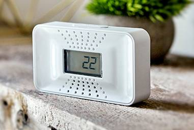Carbon Monoxide Alarm with 10-Year Battery