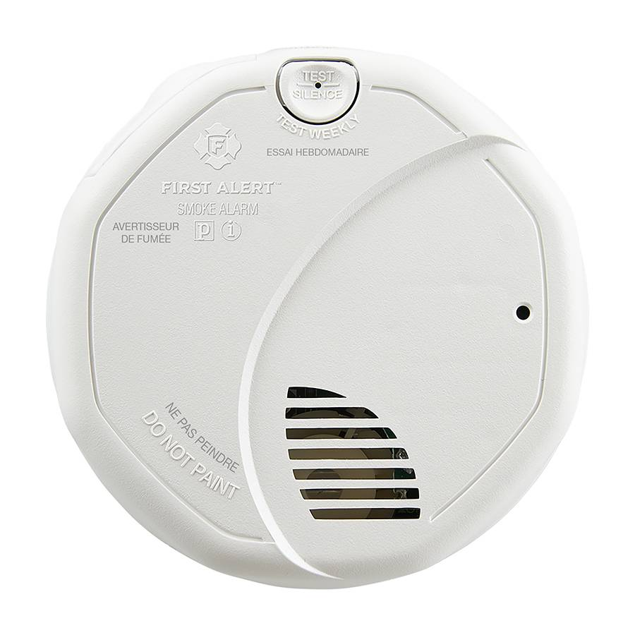 Ultimate Protection Smoke Alarm, Battery-Powered Front View